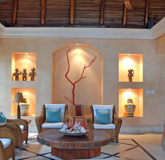 Cabo Velas Living Room