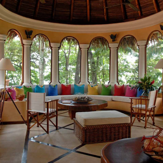 Cabo Velas Sitting Room