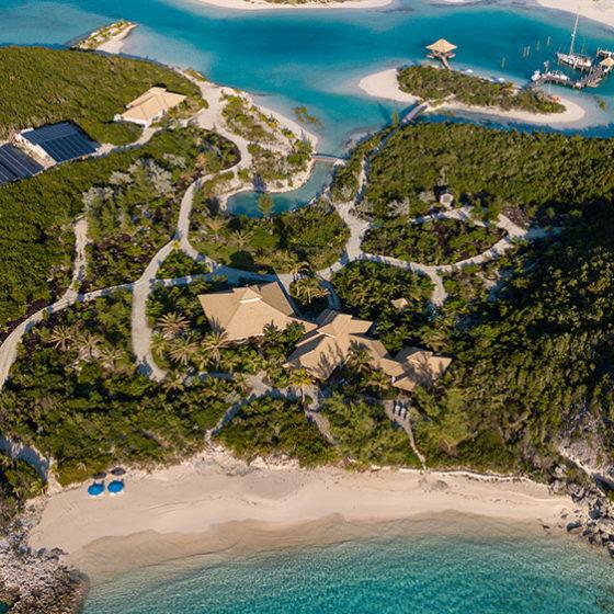 Choini Cay Aerial