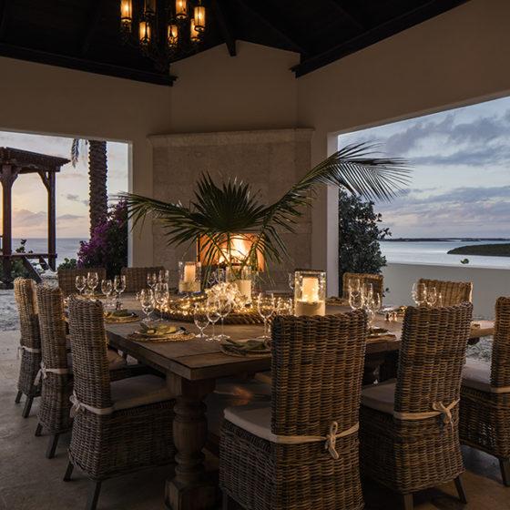 Over Yonder Cay Evening Dinner