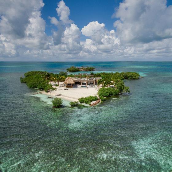 Gladden Cay Ariel View