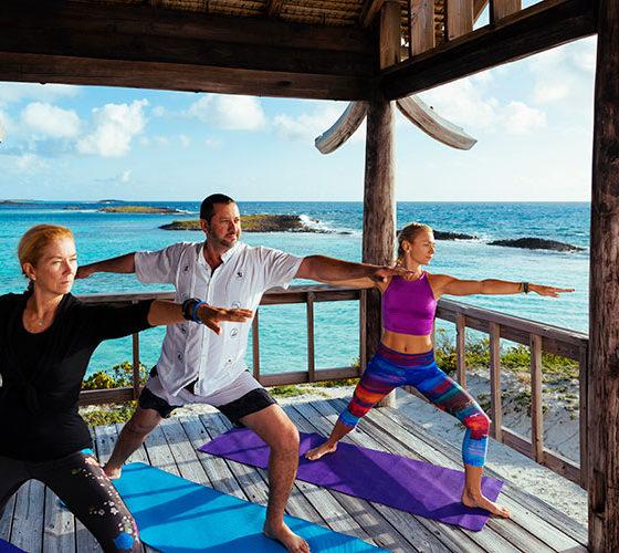 Yoga at Wac Cay