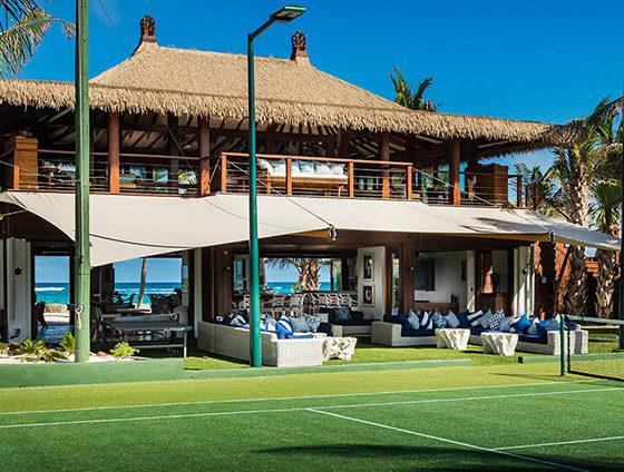 Necker Island Beach Pavilion and Tennis Court