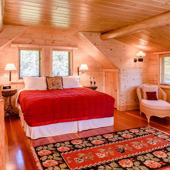 Lake Kora Cottage Bedroom
