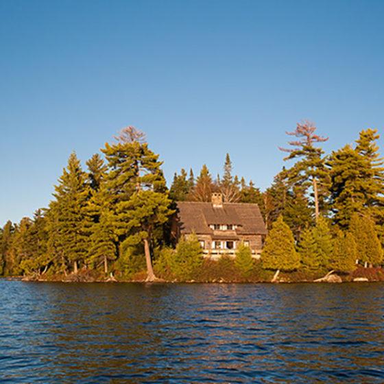 Lake Kora Island House