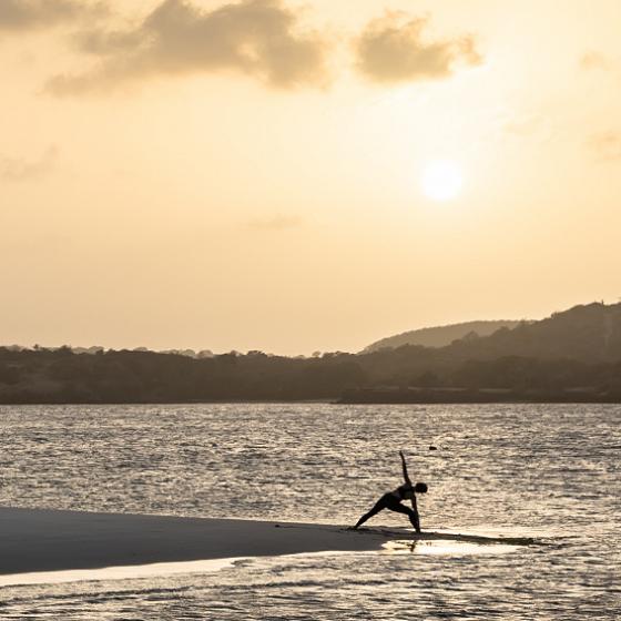 Calivigny Island Yoga