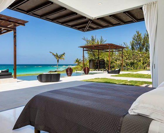 Ananda House Bedroom Beachfront