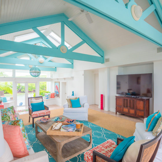 Middle Cay Living Area